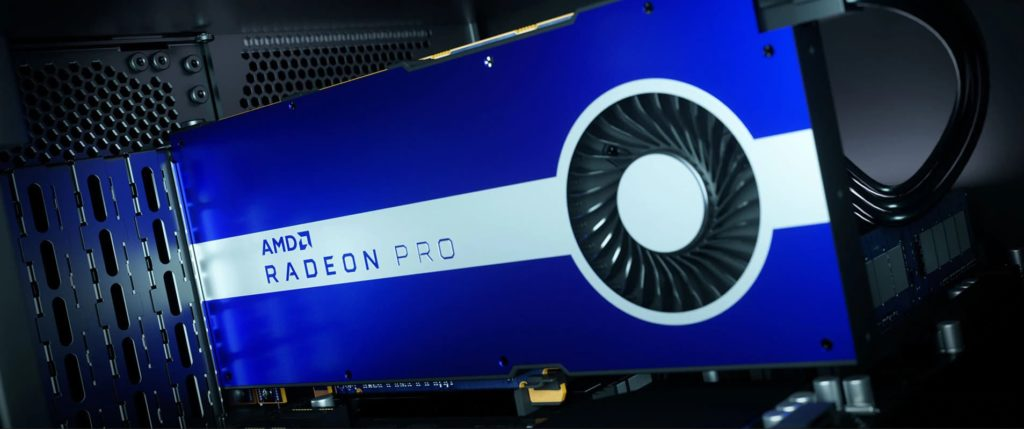 AMD Releases Radeon Pro 5500 Work Station Graphics Card
