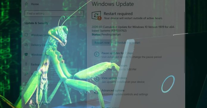 March 12, 2020-KB4551762 For OS Builds 18362.720 and 18363.720