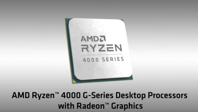 AMD Ryzen 4000 G-Series Processors