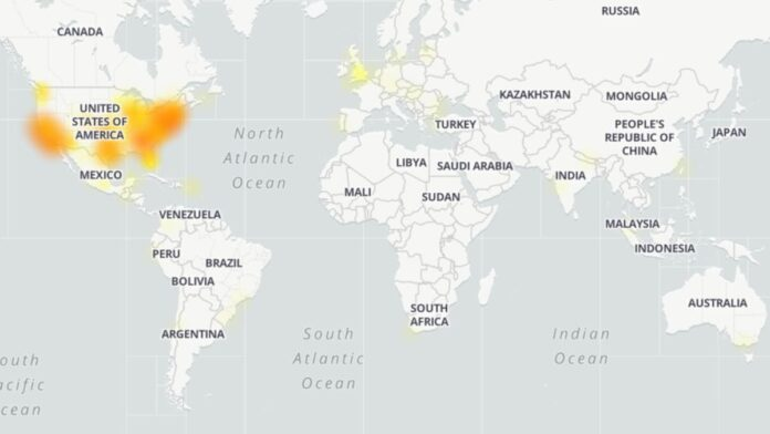 Zoom Outage Map