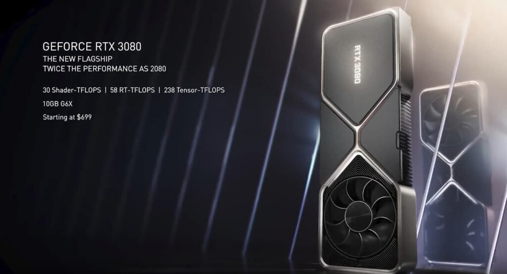 NVIDIA 3080 Pricing and specs