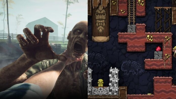 PC games releasing today Spelunky 2, The Walking Dead Onslaught