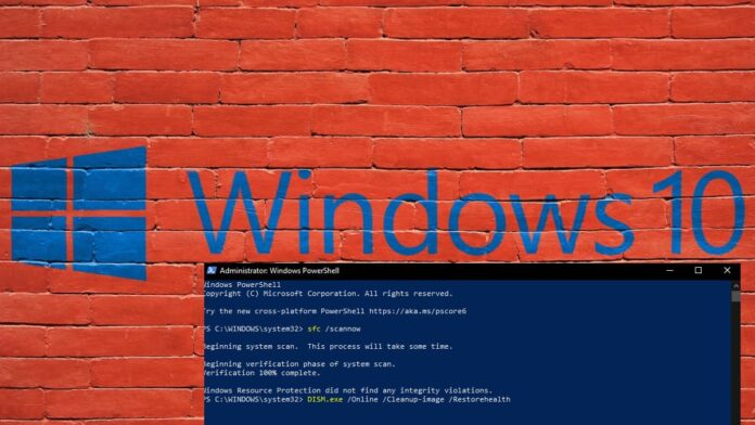 How to Use Windows system file checker