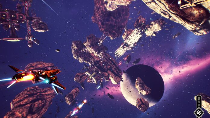 Redout- Space Assault out today on PC